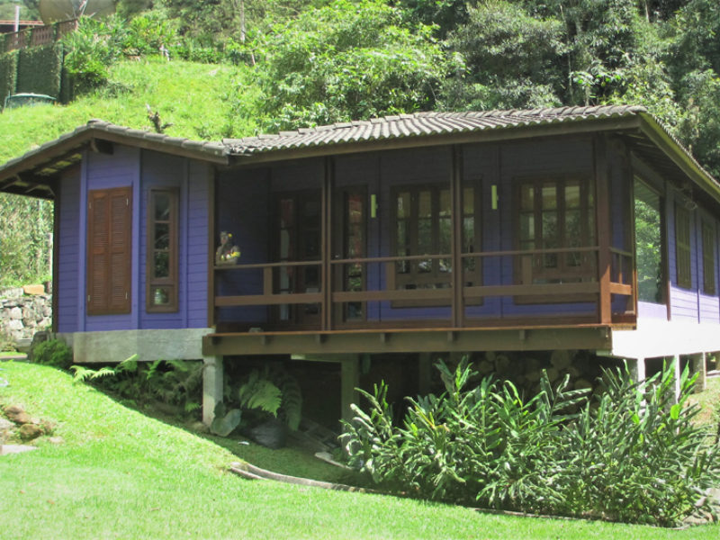 Comary, Teresópolis – Casas de madeira