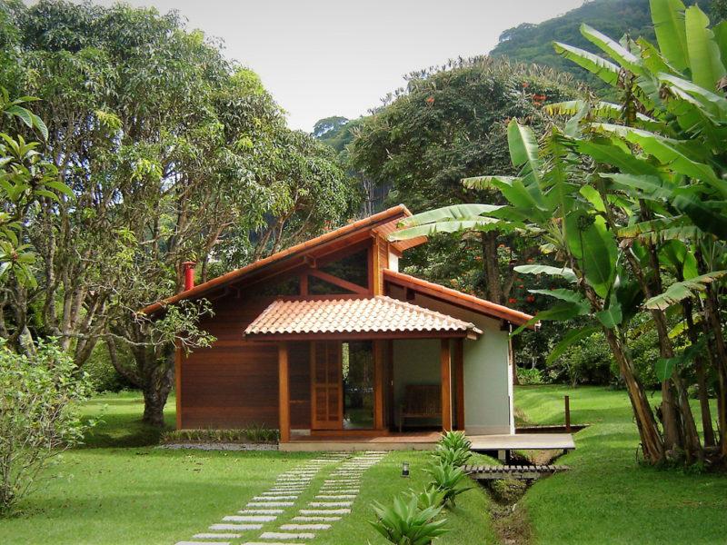 Pousada Sta Monica – Casas de madeira HOME PROJETOS