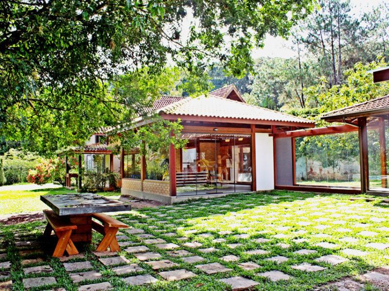 Agriões, Teresópolis, Casas de madeira