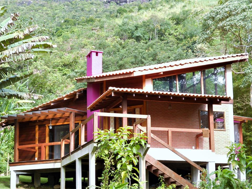 Casa de madeira pré fabricada, São Pedro da Serra