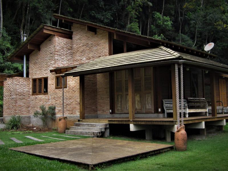 Casas de madeira pré fabricada HOME PROJETOS