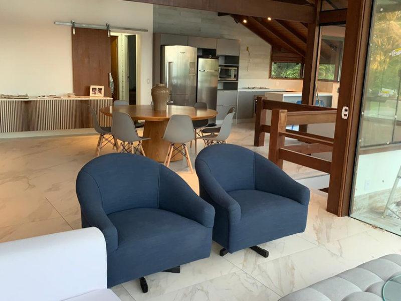 Casas de madeira – Projeto Angra